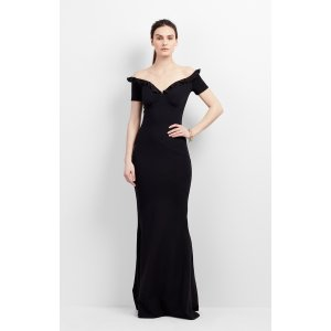Audrey Ruffle Gown