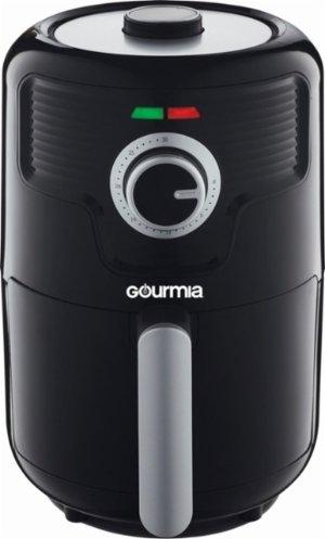 $29Gourmia - 2.2Qt Hot Air Fryer - Black/Silver