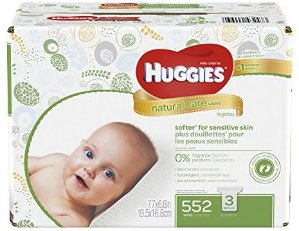$8.37Huggies Natural Care Baby Wipes, Sensitive, Unscented, 3 Refill Packs, 552 Count Total