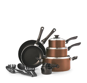 $39.99Cooks Tools 17-Piece Non-Stick Aluminum Cookware Set