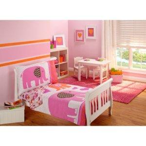 $14.914-Piece Toddler Bedding Set