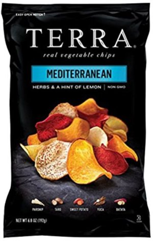 $2.62TERRA Vegetable Chips, Mediterranean Herbs and a Hint of Lemon, 6.8 Ounce