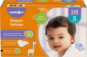 $11.99Babies R Us Size N-6 Super Pack Diapers