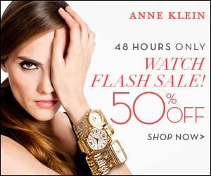 Anne Klein DealAnne Klein Watches - 50% Off for Only 48 Hours!