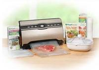 $128FoodSaver® V3880 Vacuum Sealer - The Master Chef Kit
