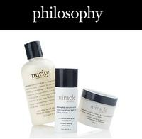 Up to 50% Off Year End Sale at Philosophy + Extra $5 off $25