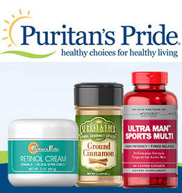 Up to 75% Off + Extra $15 Off Top Sellers @ Puritans Pride