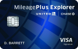 Limited Time Offer: Start with 50,000 bonus miles after required spend United MileagePlus® Explorer Card