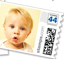 Turn your photos in real US postagewith PhotoStamps