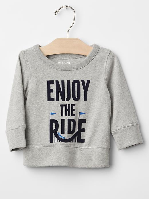 Theme park sweatshirt