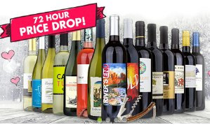 15 Bottles of International Red Wine + $50 eGift Card