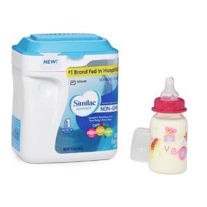 $30.39~宝宝均衡营养,妈妈才放心~Similac 雅培婴儿配方奶粉34 oz (不含转基因)