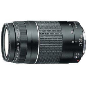 $87.99(原价$199.99) 包邮免税独家!Canon EF 75-300mm F4-5.6 III 镜头