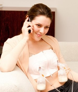 2bfd603827b53 Simple Wishes D Lite Hands Free Breastpump Bra, Soft Pink $24.19 ...