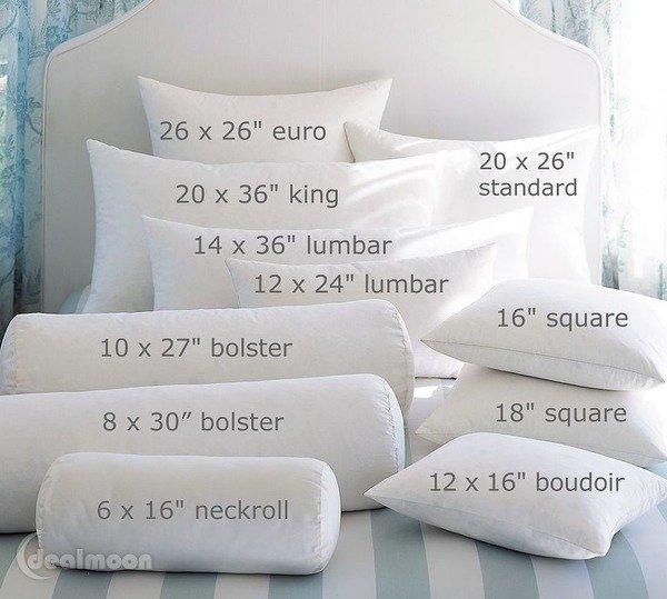美国枕头尺寸大小