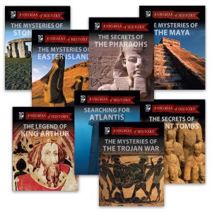 $12.95 A BOOK (Retail value: $25.95) Enigmas of History