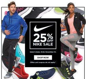 b06824f27dabb 25% Off Select Nike Clothing