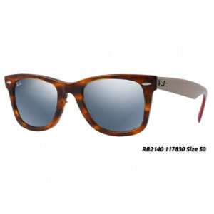 Rayban RB2140 Original Wayfarer Flash Lenses Unisex Sunglasses