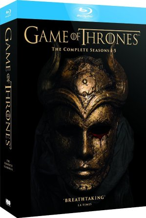 As low as $68.46Game of Thrones (Complete Seasons 1-5) 23-Disc Box Set
