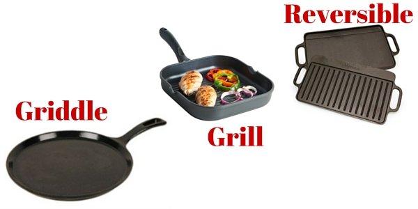 平板煎锅、烧烤煎锅