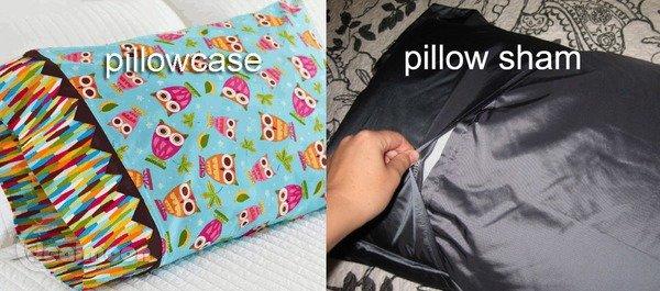 枕头套 Pillow Case vs Pillow Sham