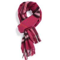 Burberry 经典羊绒格子围巾