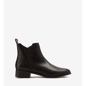 帅气踝靴(黑色)