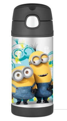 Despicable Me Minions Funtainer Thermal Bottle 12 oz.