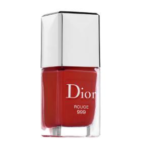 Dior 999正到没朋友指甲油