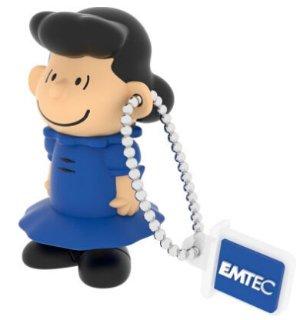 $3.73萌萌哒!EMTEC Peanuts 8GB USB 2.0 Lucy卡通闪存盘