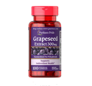 Puritan's Pride  Satisfaction Guaranteed or Your Money Back Grapeseed Extract