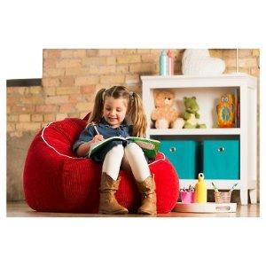 Fabulous Pillowfort Xl Corduroy Bean Bag Chair Dealmoon Beatyapartments Chair Design Images Beatyapartmentscom