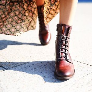 Frye Melissa Lace-Up Boots 114.99