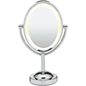 Conair Oval Shaped Double-Sided Lighted Makeup Mirror