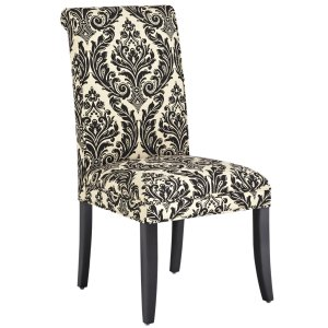 Angela Onyx Damask Deluxe Dining Chair, Pier 1 Imports All Dining Seating Sale