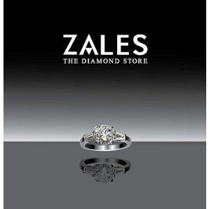 立减高达$300Zales精选首饰、珠宝等热卖