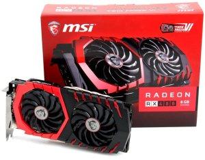 $211 MSI AMD Radeon RX 480 GAMING X 8GB GDDR5