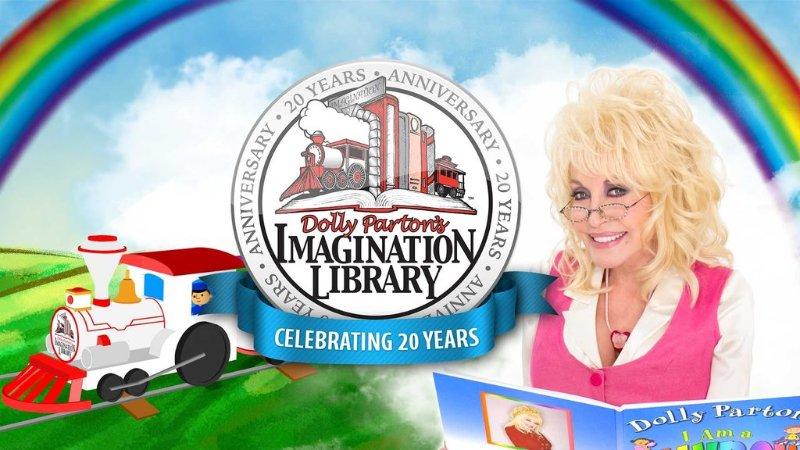 Dolly Parton's Imagination Library 领免费图书活动