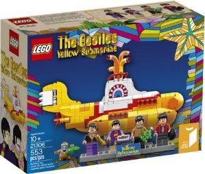 $44.96 好价!经典值得收藏LEGO 创意系列 21306 黄色潜水艇