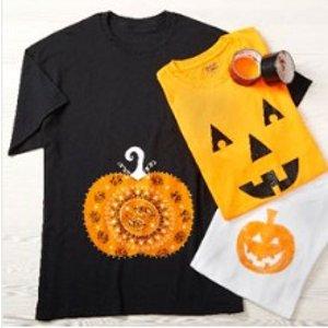 亲子手工课圈日历啦! 10月8日下午Michaels Stores万圣节T恤装饰活动