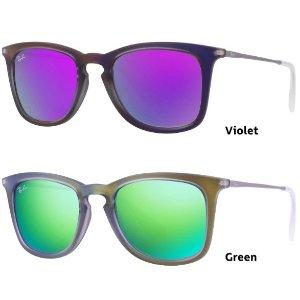 Ray-Ban RB4221 Highstreet Sun Collection Mirrored Sunglasses