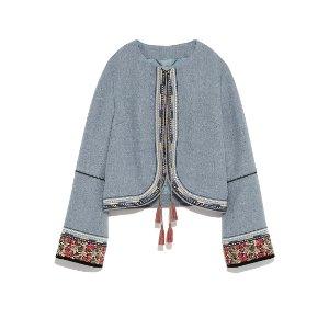 Lily Brown 刺绣小外套