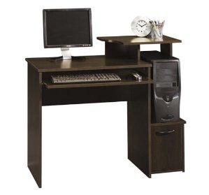 $49.98 小巧省空间Sauder Beginnings 学生一体式电脑桌