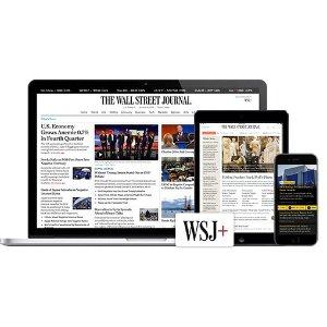5折The Wall Street Journal 《华尔街日报》杂志订阅