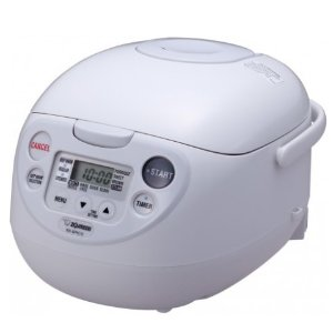 Zojirushi NS-WRC10 5.5-Cup (Uncooked) Micom Rice Cooker, Warmer & Steamer