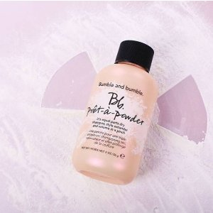 Free Travel-size Prêt-à-powder + ShippingWith $30 orders @ Bumble & Bumble