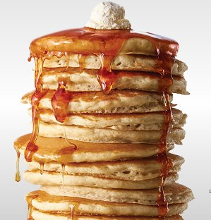 Today only! Free short stack of pancakeson National Pancake Day @ IHOP