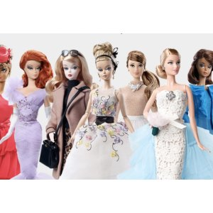 Additional 25% Offon Already Reduced Prices on The Barbie Collection Dolls @ Mattel