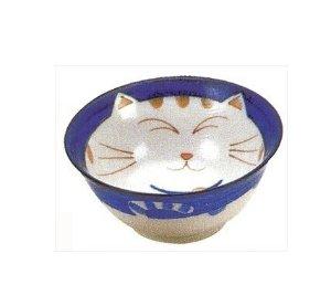 Smiling Blue Cat Noodle Bowl