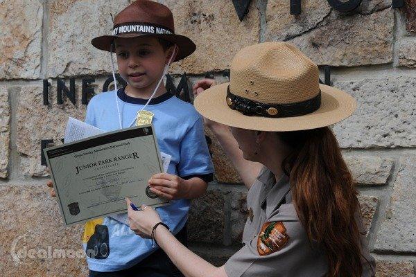 Junior Ranger - 美国国家公园 免费儿童活动